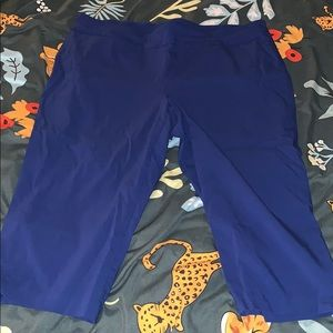 Worthington 2X Capri pull on pants